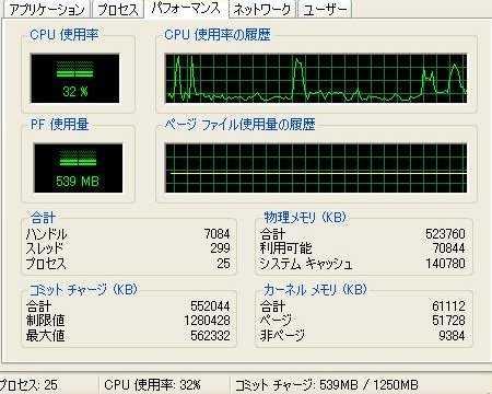 CPU使用率激減